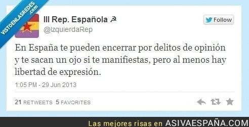 8530 - La libertad de expresión más o menos por @izquierdarep