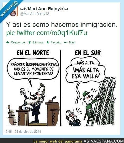 9736 - Y así es como se gestionan los problemas en España por @MariAnoRajoy12