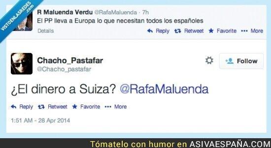 9772 - Zas a @Rafamaluenda de @Chacho_pastafar
