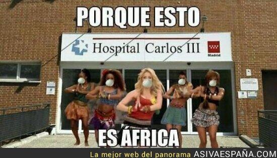 5497 - Shakira dará un concierto en la puerta del Hospital Carlos III con su tema estrella