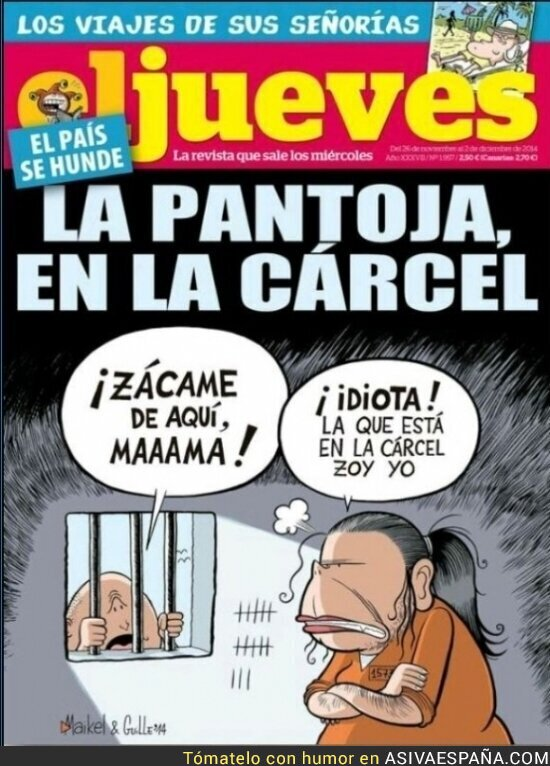 4090 - EL JUEVES - Entre broma y broma, la realidad de España asoma