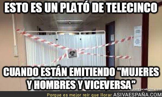 5644 - Mientras tanto, en los estudios de Telecinco