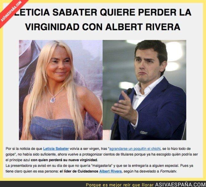 15194 - Leticia Sabater ya tiene objetivo: Albert Rivera de Ciutadans