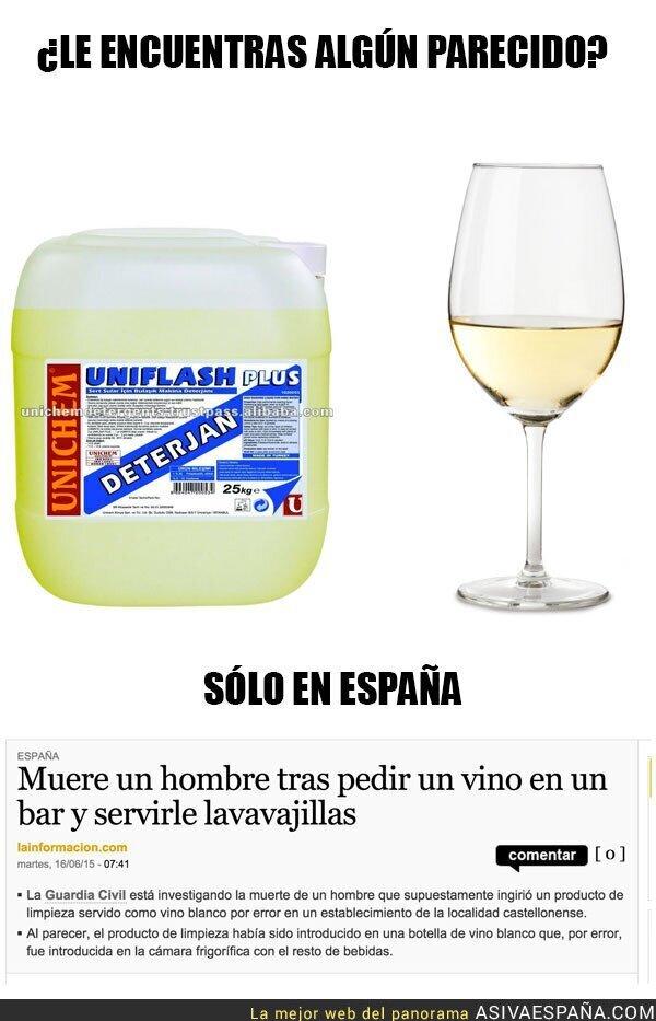 15631 - Muere un hombre tras pedir un vino en un bar y servirle lavavajillas