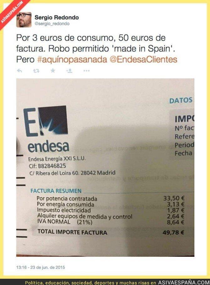 16341 - El robo de las eléctricas en España