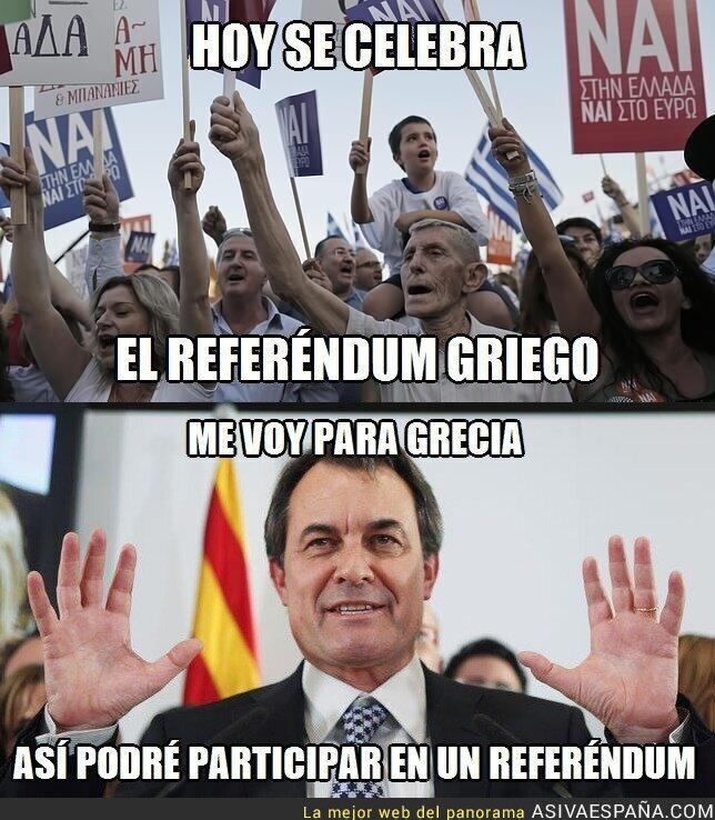 17744 - Artur Mas y el referéndum griego