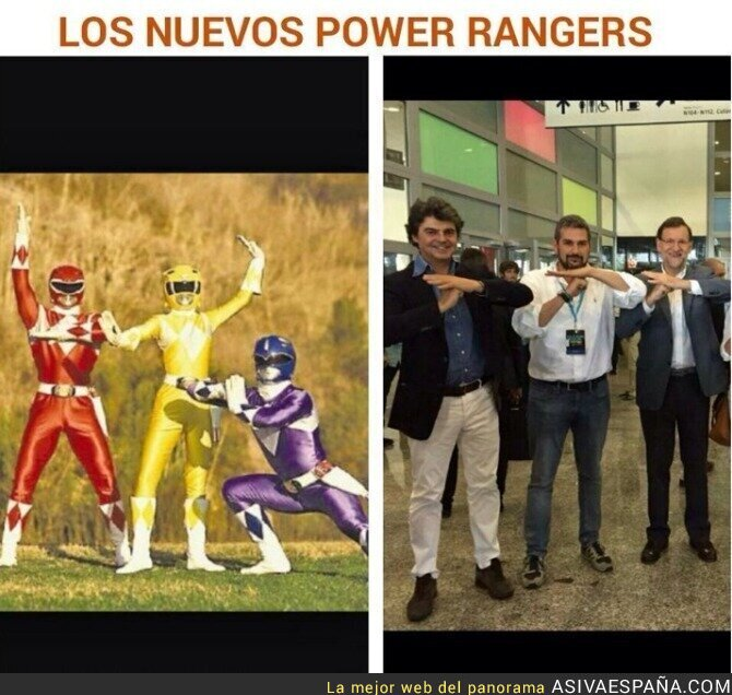 18229 - Los nuevos Power Rangers