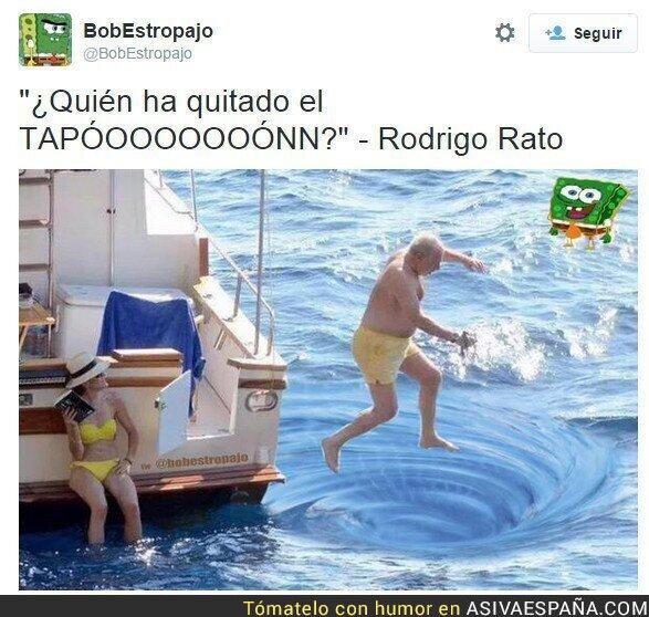 18914 - Los mejores memes del chapuzón de Rodrigo Rato en Mallorca