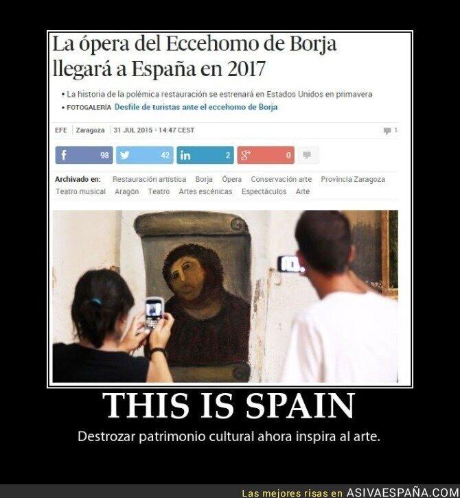 19337 - Tradición española: Sacar lo bueno de lo malo