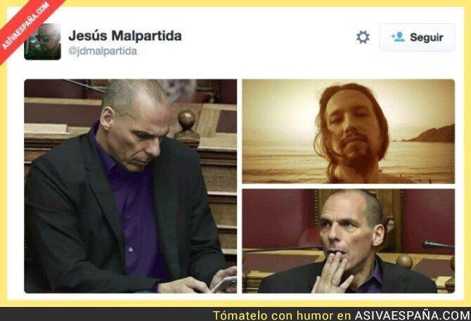 20392 - La foto de Pablo Iglesias que revoluciona las redes sociales por su pelazo la aire