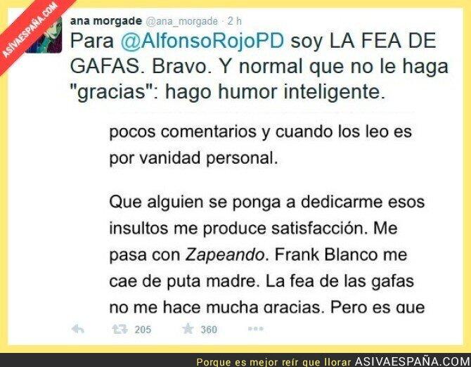 20982 - Ana Morgade responde a Alfonso Rojo