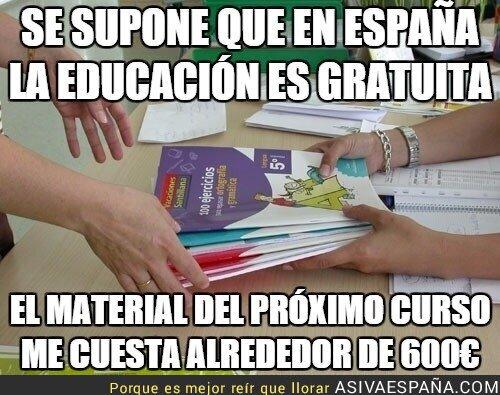 21191 - Se supone que en España la educación es gratuita