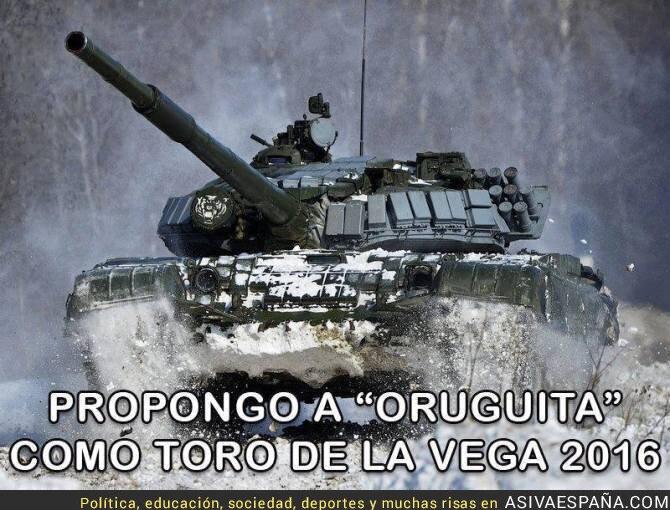 22303 - Oruguita para El Toro de la Vega 2016