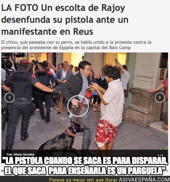 22689 - Rajoy y Albiol convierten Reus en el Bronx