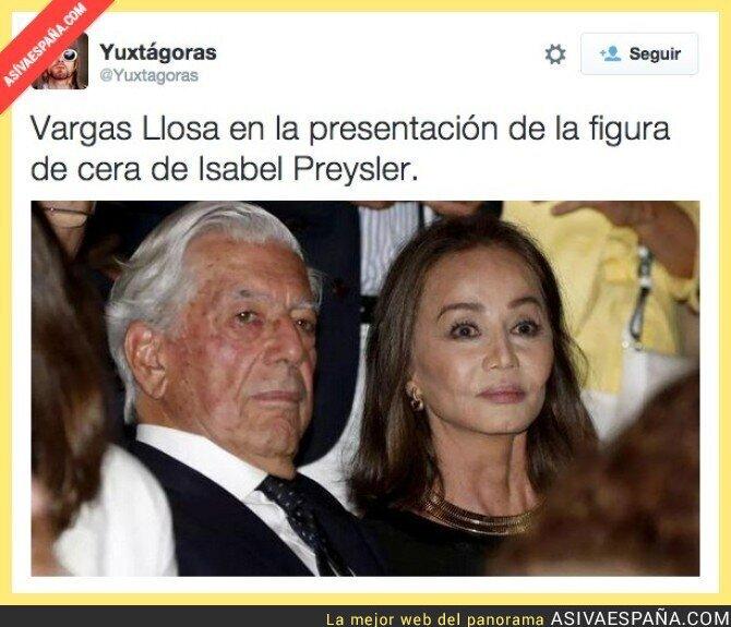 22736 - Vargas Llosa no se ha querido perder el evento