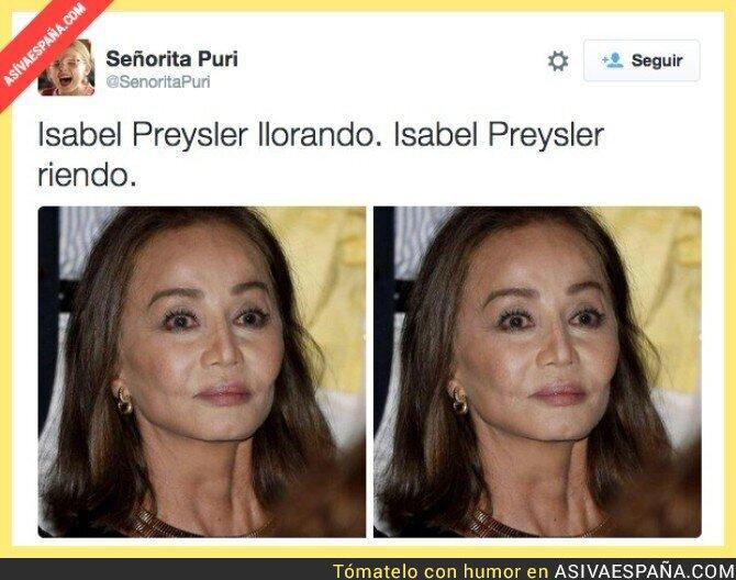 22738 - Las expresiones de Isabel Preysler
