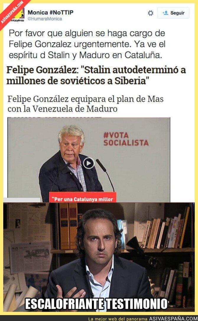 22760 - Felipe González, próximo invitado a Cuarto Milenio