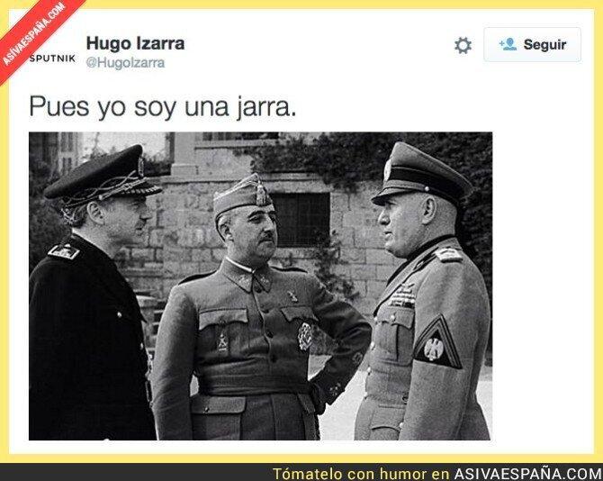 22939 - Franco opina sobre las palabras de hace días de Rajoy