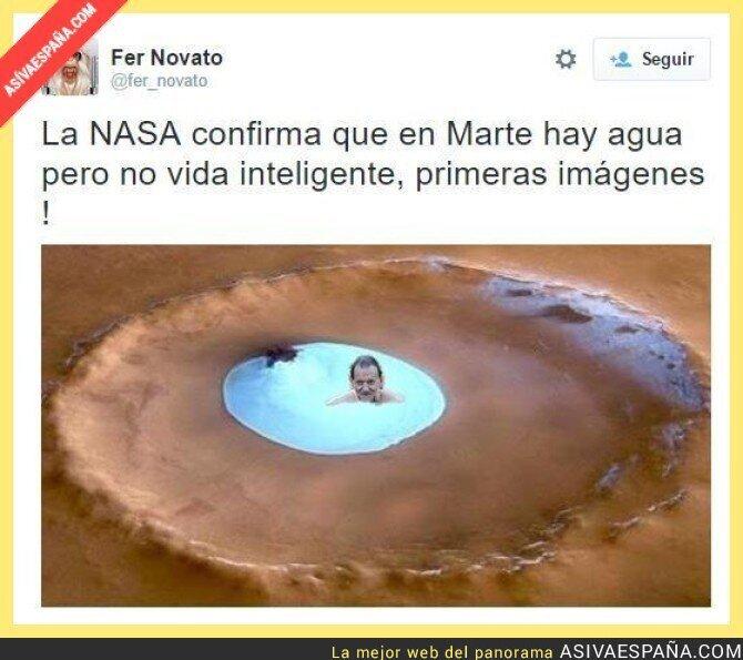23307 - Primera imagen del agua en Marte