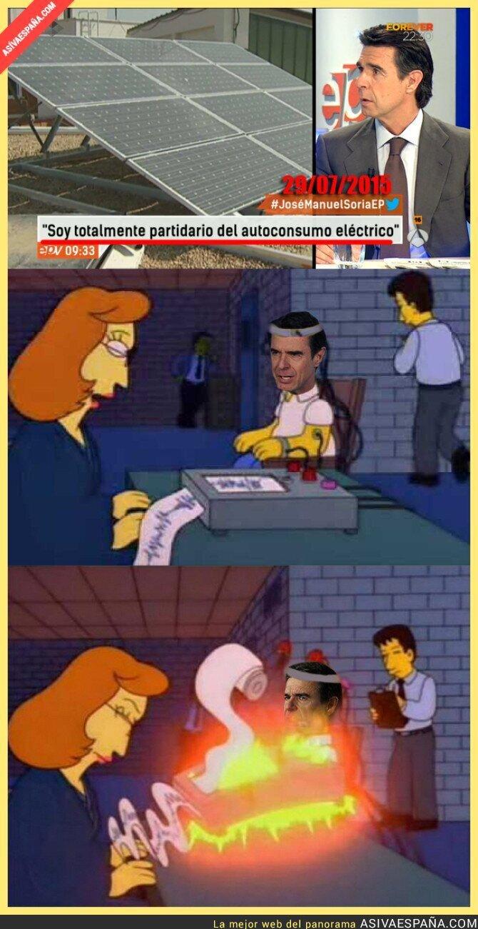 24158 - El polígrafo determina que el ministro Soria...