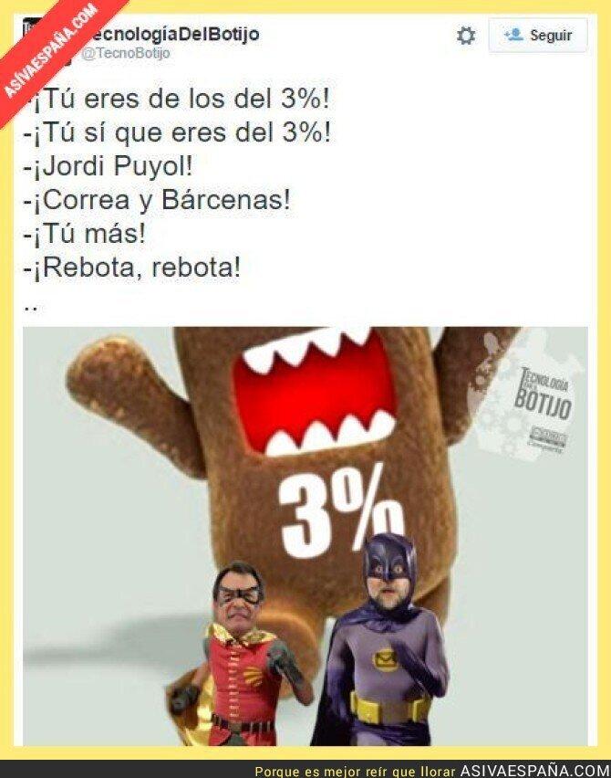 24782 - Cada vez son más los salpicados por un 3% en España