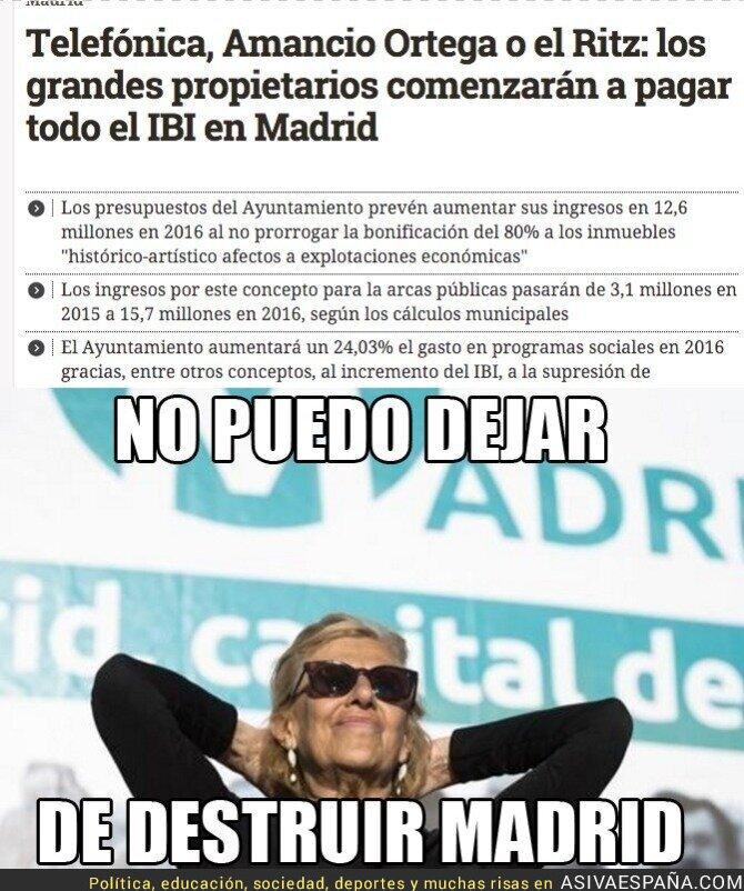 25167 - Manuela Carmena sigue haciendo el mal por Madrid