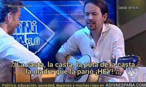 25521 - Pablo Iglesias sigue en El Hormiguero cantando