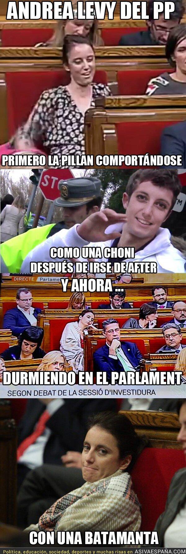 26092 - Andrea Levy del Partido Popular y su semana fantástica en el Parlament de Catalunya