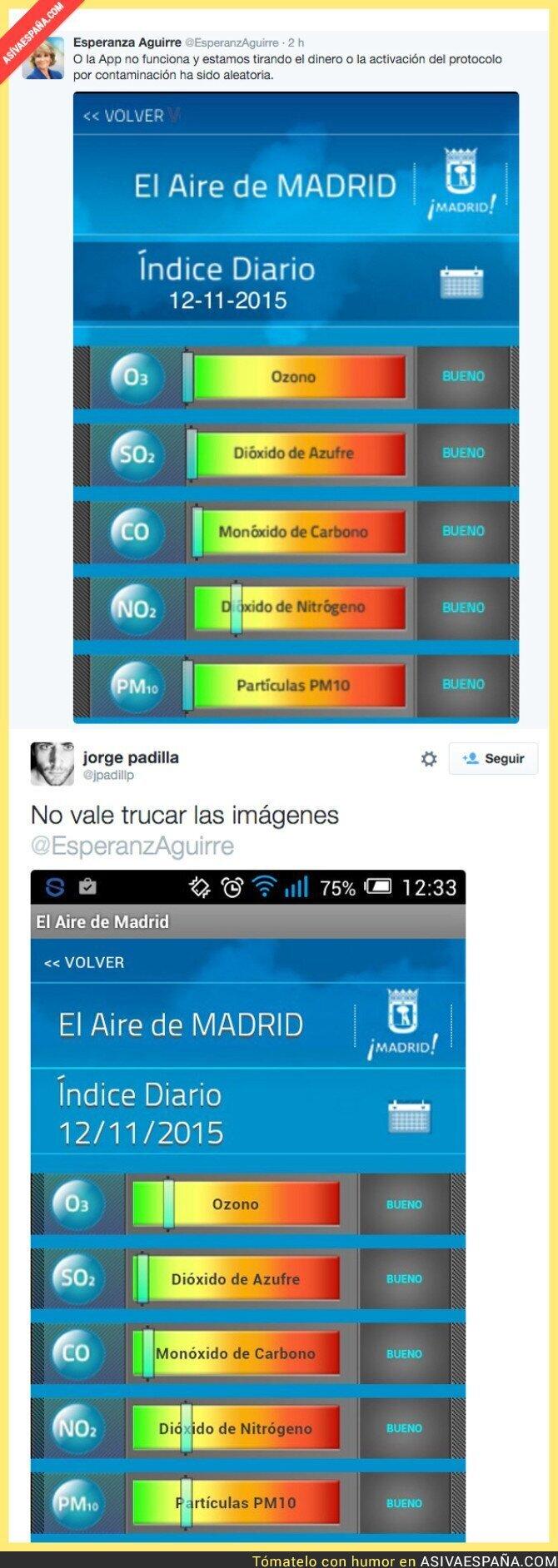 26150 - Esperanza Aguirre ha pasado de la política a trucar imágenes con Photoshop