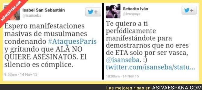 26231 - Twitter se le va de las manos a Isabel San Sebastián