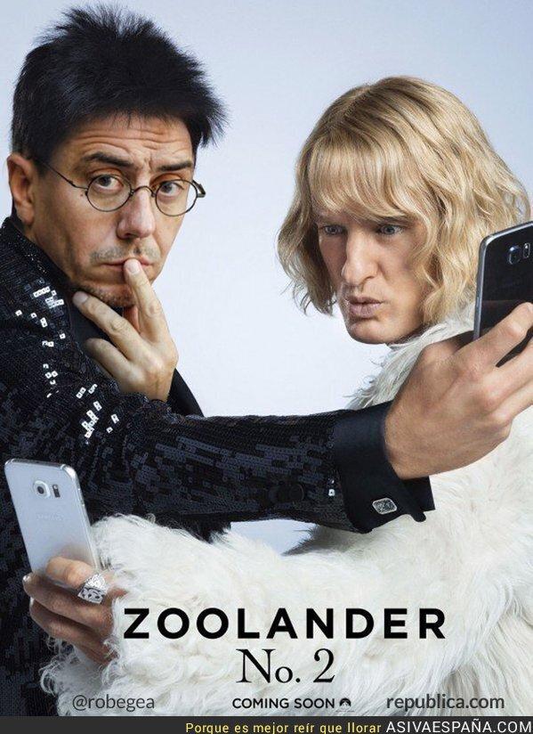 26550 - El cartel de la película Zoolander 2