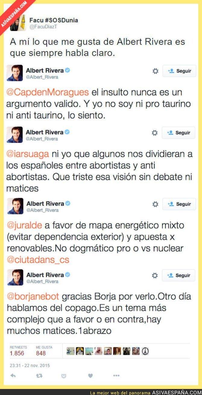 26907 - Albert Rivera siempre tan claro