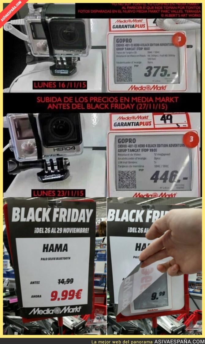 27048 - Sigue el gran engaño de Media Markt en el Black Friday. Atención a los siguientes productos