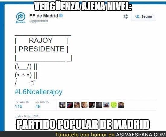27853 - La cuenta de Twitter del PP de Madrid la lleva un niño de 12 años