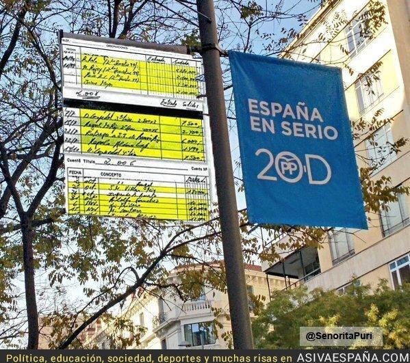 27906 - Más carteles de propaganda electoral del PP