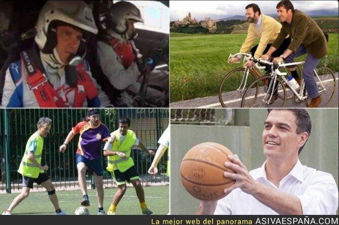29867 - El lado más deportista de los candidatos a la Presidencia