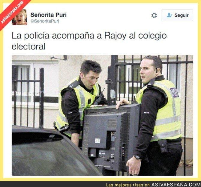 29885 - ¡Rajoy ya ha votado!