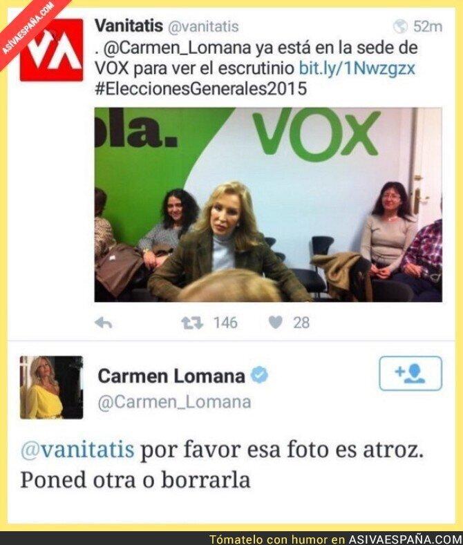 30134 - La prioridad para Carmen Lomana