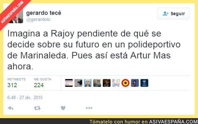 30645 - Imaginaos a Rajoy en esa situacion por un momento