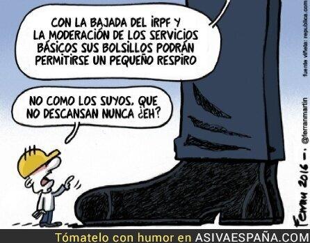 31036 - Los bolsillos de la clase media vs los bolsillos de Rajoy.