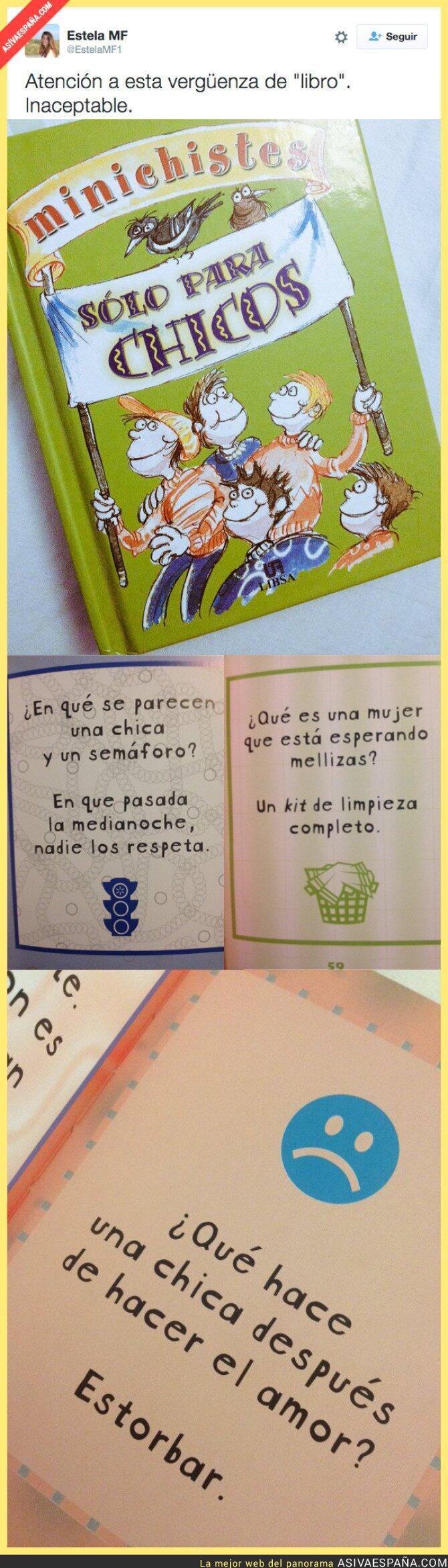 31104 - El libro que se venden en España con chistes