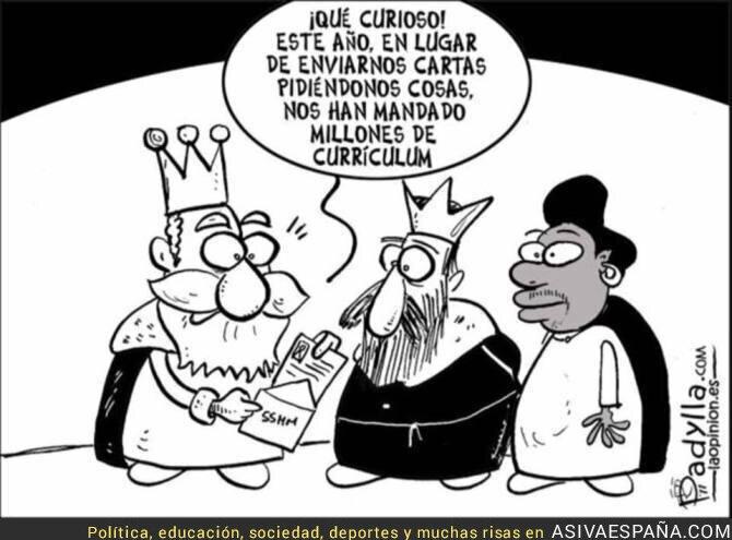 31241 - Los Reyes Magos y las cartas desde España