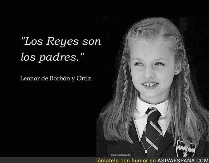 31278 - Comunicado de la Princesa de Asturias
