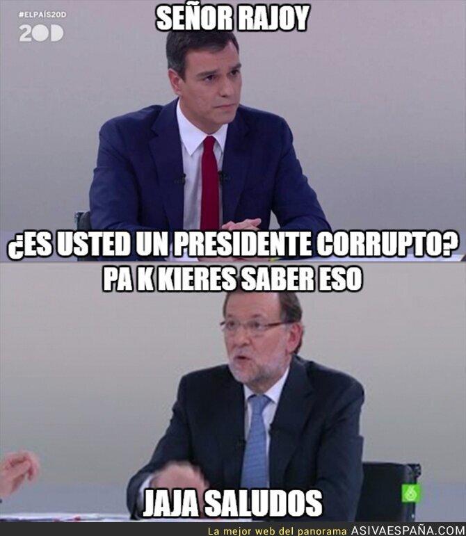 31614 - La mejor respuesta de Rajoy en un debate