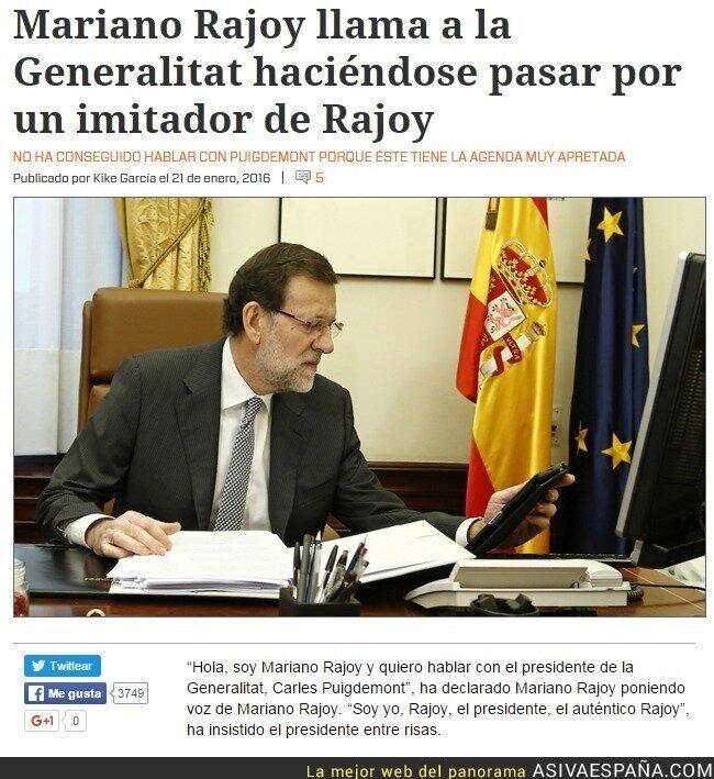 32816 - En el fondo Rajoy es un cachondo