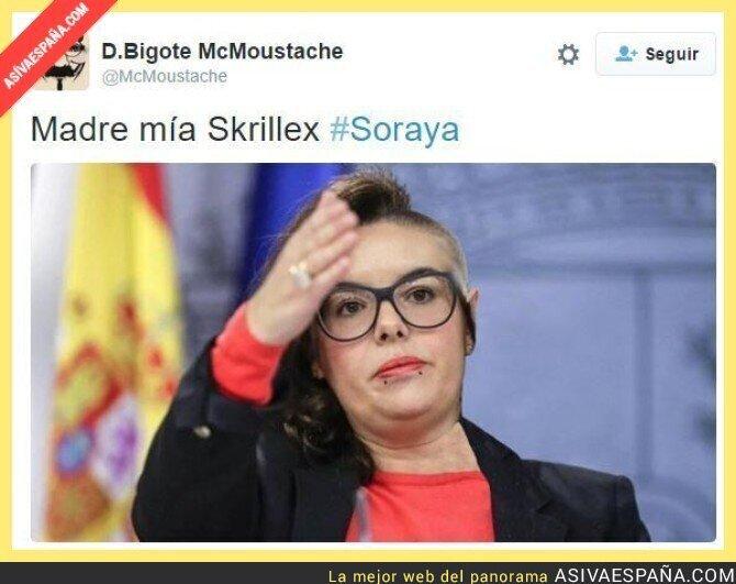 610fdc4775 ASÍ VA ESPAÑA ] Soraya en su tiempo libre es...