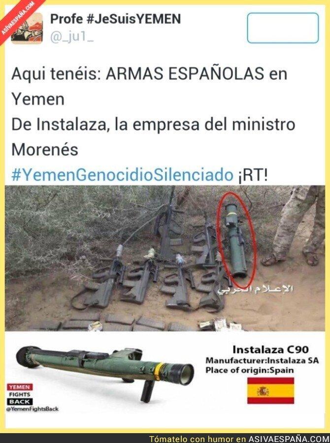 33485 - ¿Para qué un pacto antiyihadista si vendemos armas a dictaduras?