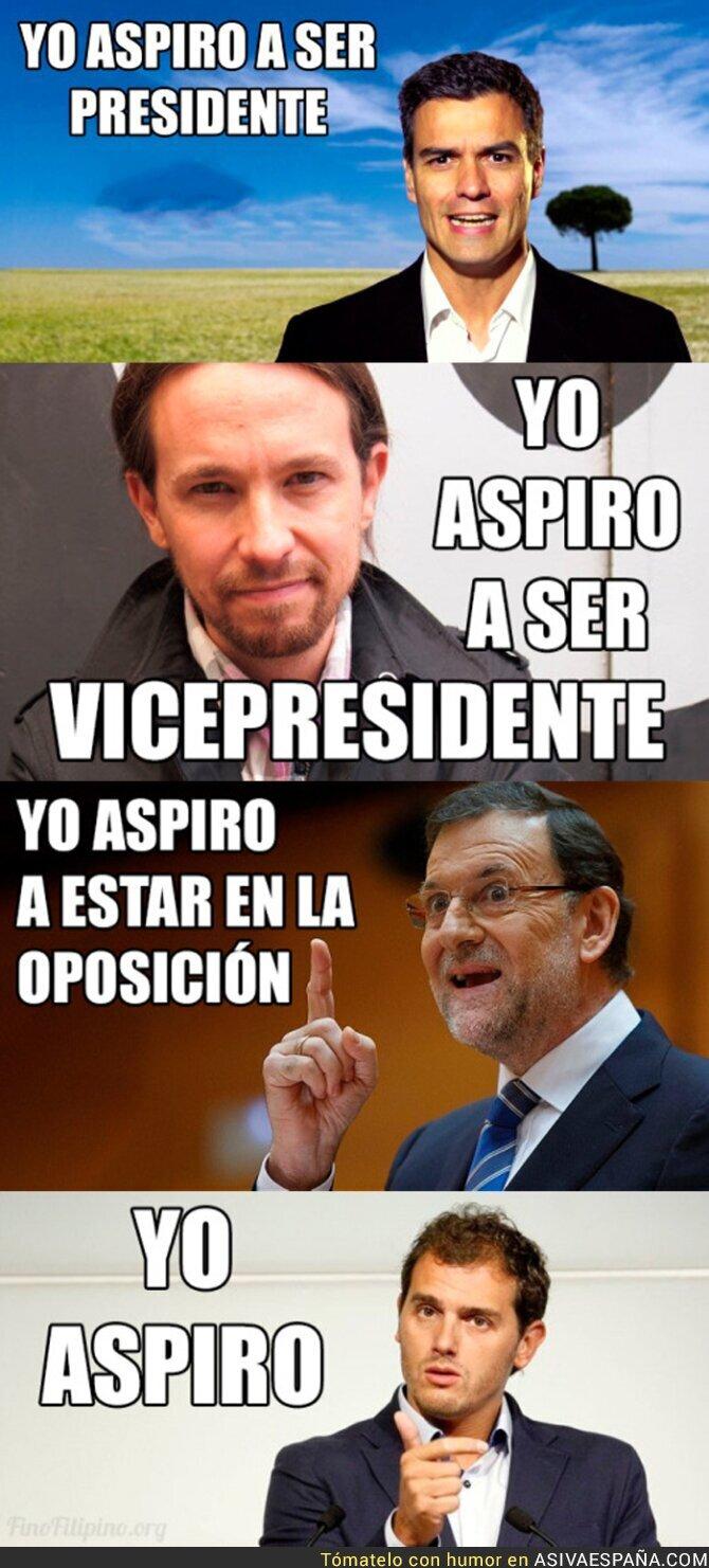 33742 - Las aspiraciones a los candidatos a la presidencia de España