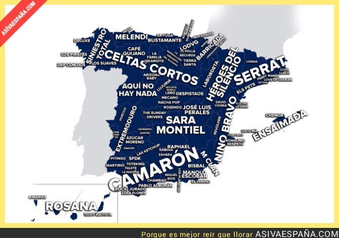 34022 - La mapa de la música en cada parte de España
