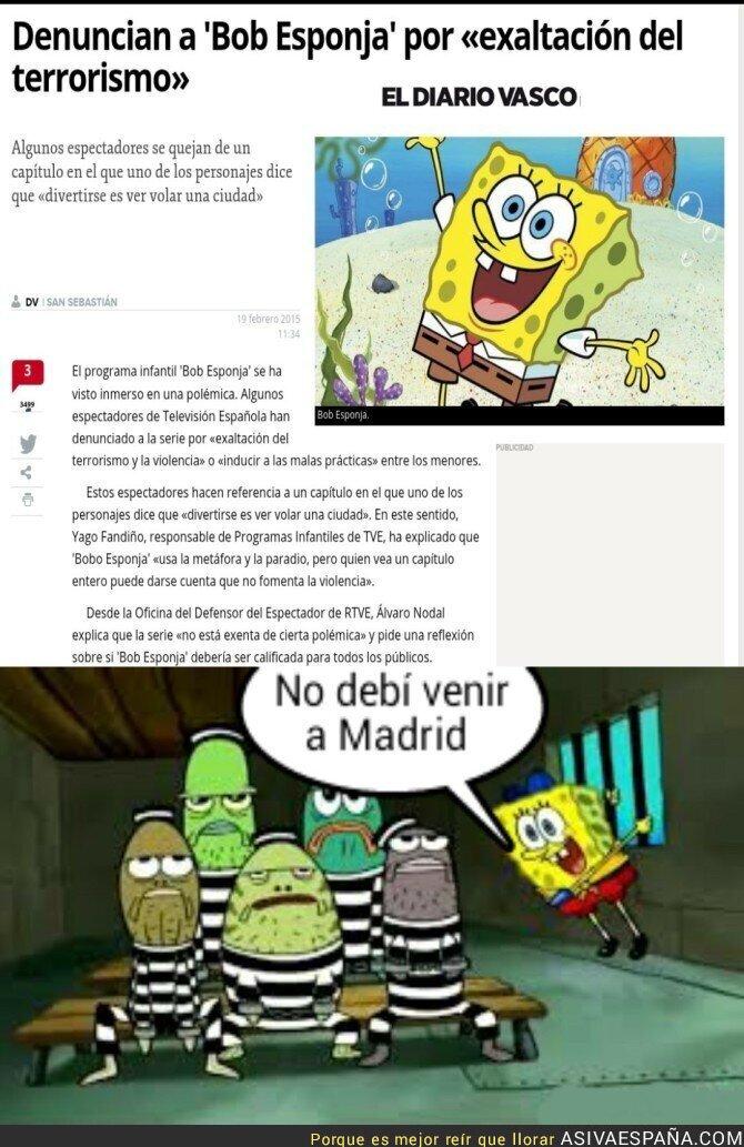34178 - En España hasta Bob Esponja es terrorista